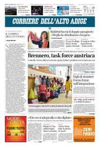 Corriere dell'Alto Adige - 20 Gennaio 2018
