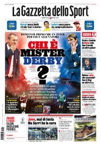La Gazzetta dello Sport – 20 settembre 2019