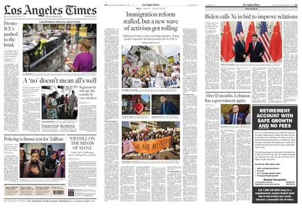 Los Angeles Times – September 11, 2021