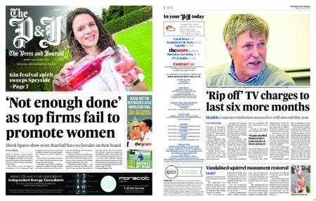 The Press and Journal Moray – July 15, 2019