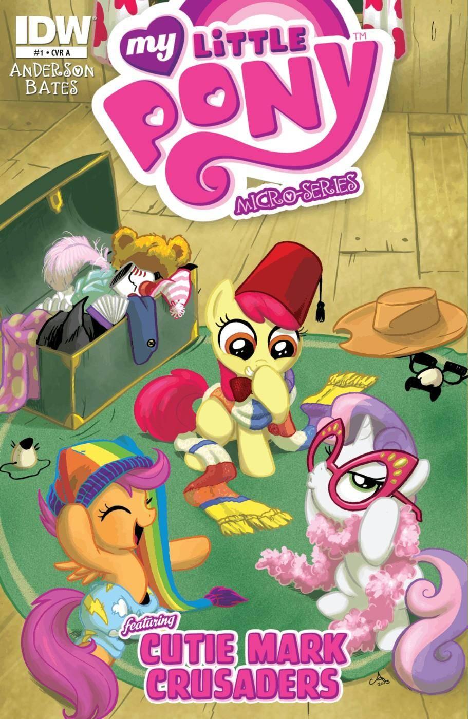 My Little Pony - Micro Series 007 Cutie Mark Crusaders 2013 2 covers digital