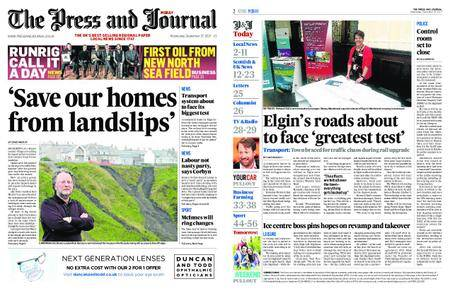 The Press and Journal Moray – September 27, 2017