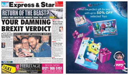 Express and Star Sandwell Edition – December 03, 2018