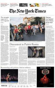 International New York Times - 30 July