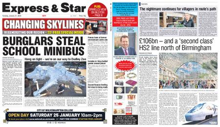 Express and Star City Edition – January 21, 2020