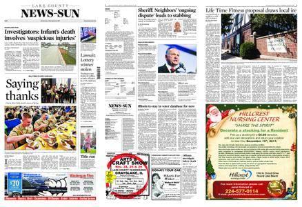 Lake County News-Sun – November 22, 2017