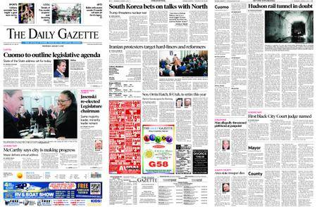 The Daily Gazette – January 03, 2018