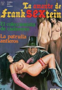 La Amante de Franksextein 2: El coleccionista de cadáveres / La patrulla antieros