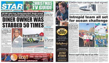 Shropshire Star Shrewsbury Edition – December 13, 2017
