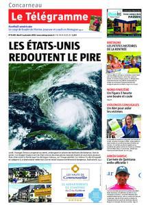 Le Télégramme Concarneau – 03 septembre 2019