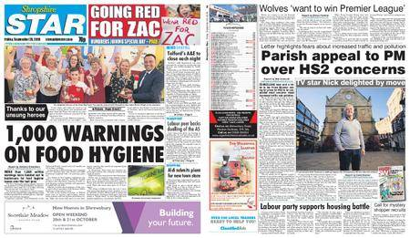 Shropshire Star Shrewsbury Edition – September 28, 2018