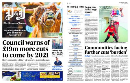 The Press and Journal Moray – June 21, 2019