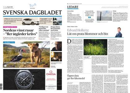 Svenska Dagbladet – 19 juli 2019