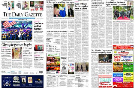 The Daily Gazette – February 10, 2018