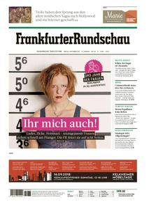 Frankfurter Rundschau Main-Taunus - 07. September 2018