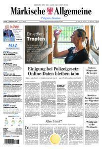 Märkische Allgemeine Prignitz Kurier - 07. September 2018