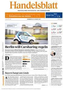 Handelsblatt - 25. August 2016