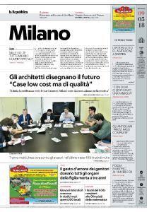 la Repubblica Milano - 9 Maggio 2018