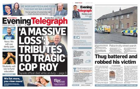 Evening Telegraph First Edition – September 04, 2019