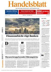 Handelsblatt - 01. Oktober 2018