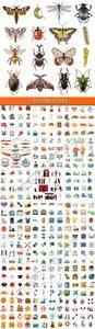 Flat icons vector 8