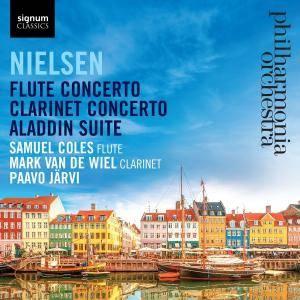 Paavo Järvi & Philharmonia Orchestra - Nielsen: Flute Concerto, Clarinet Concerto & Aladdin Suite (2017)