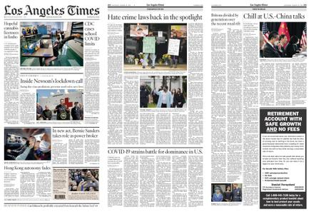 Los Angeles Times – March 20, 2021