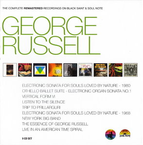 George Russell - The Complete Remastered Recordings on Black Saint and Soul Note (2010) {9CD CAM Jazz BXS 1005}