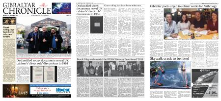 Gibraltar Chronicle – 31 December 2018