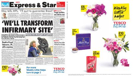 Express and Star City Edition – March 28, 2019