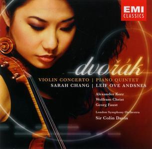 Sarah Chang, Leif Ove Andsnes, Sir Colin Davis - Dvorak: Violin Concerto, Piano Quintet (2005)