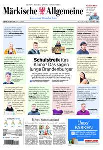 Märkische Allgemeine Zossener Rundschau - 29. März 2019