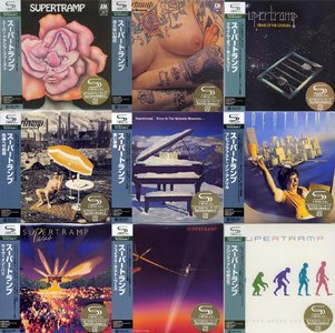 Supertramp - The Complete SHM-CD Set (1970 -1987) {10 Albums Japan Mini LP SHM-CD UICY-93607~17 rel 2008}