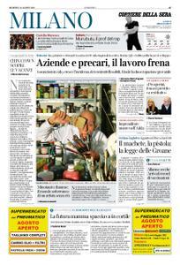Corriere della Sera Milano – 18 agosto 2019