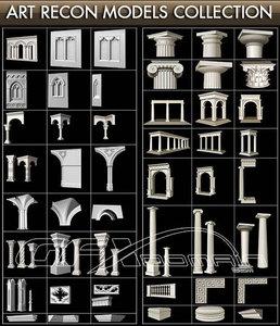 Art Recon 3D Models Vol.I – II