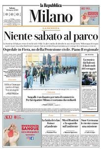 la Repubblica Milano - 14 Marzo 2020