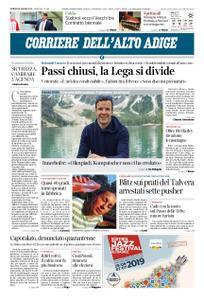 Corriere dell'Alto Adige – 28 giugno 2019