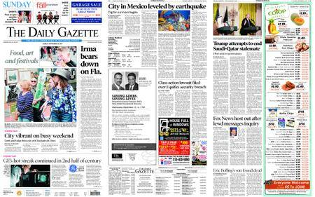 The Daily Gazette – September 10, 2017