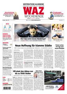 WAZ Westdeutsche Allgemeine Zeitung Oberhausen-Sterkrade - 09. März 2019