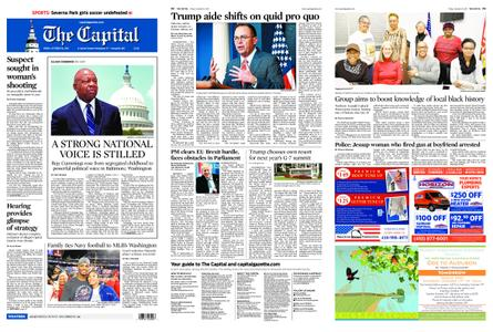 The Capital – October 18, 2019