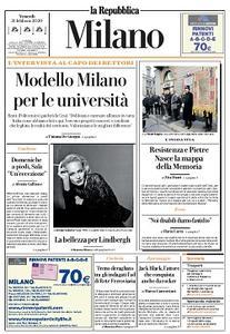 la Repubblica Milano - 21 Febbraio 2020