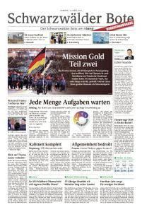 Schwarzwälder Bote Sulz - 10. März 2018