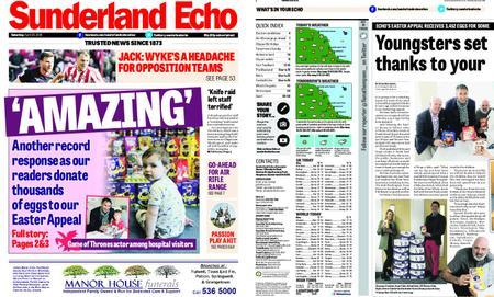 Sunderland Echo – April 20, 2019
