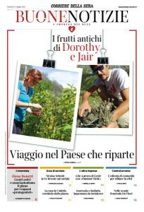 Corriere della Sera Buone Notizie - 18 Maggio 2021