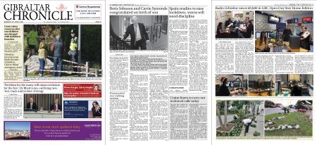 Gibraltar Chronicle – 30 April 2020