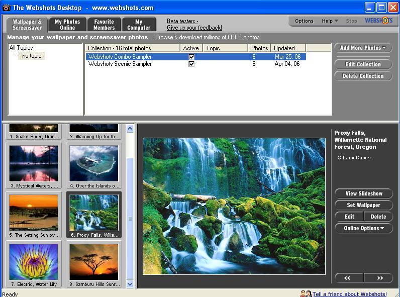 Webshots V2