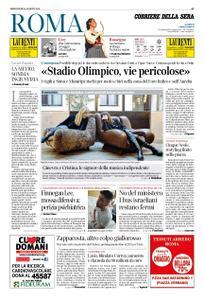 Corriere della Sera Roma – 21 agosto 2019