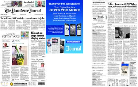 The Providence Journal – August 21, 2019