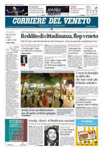 Corriere del Veneto Vicenza e Bassano – 27 luglio 2019