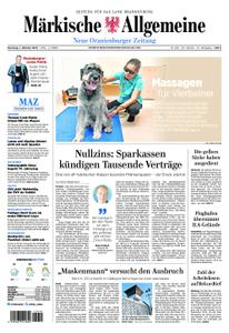 Neue Oranienburger Zeitung - 01. Oktober 2019